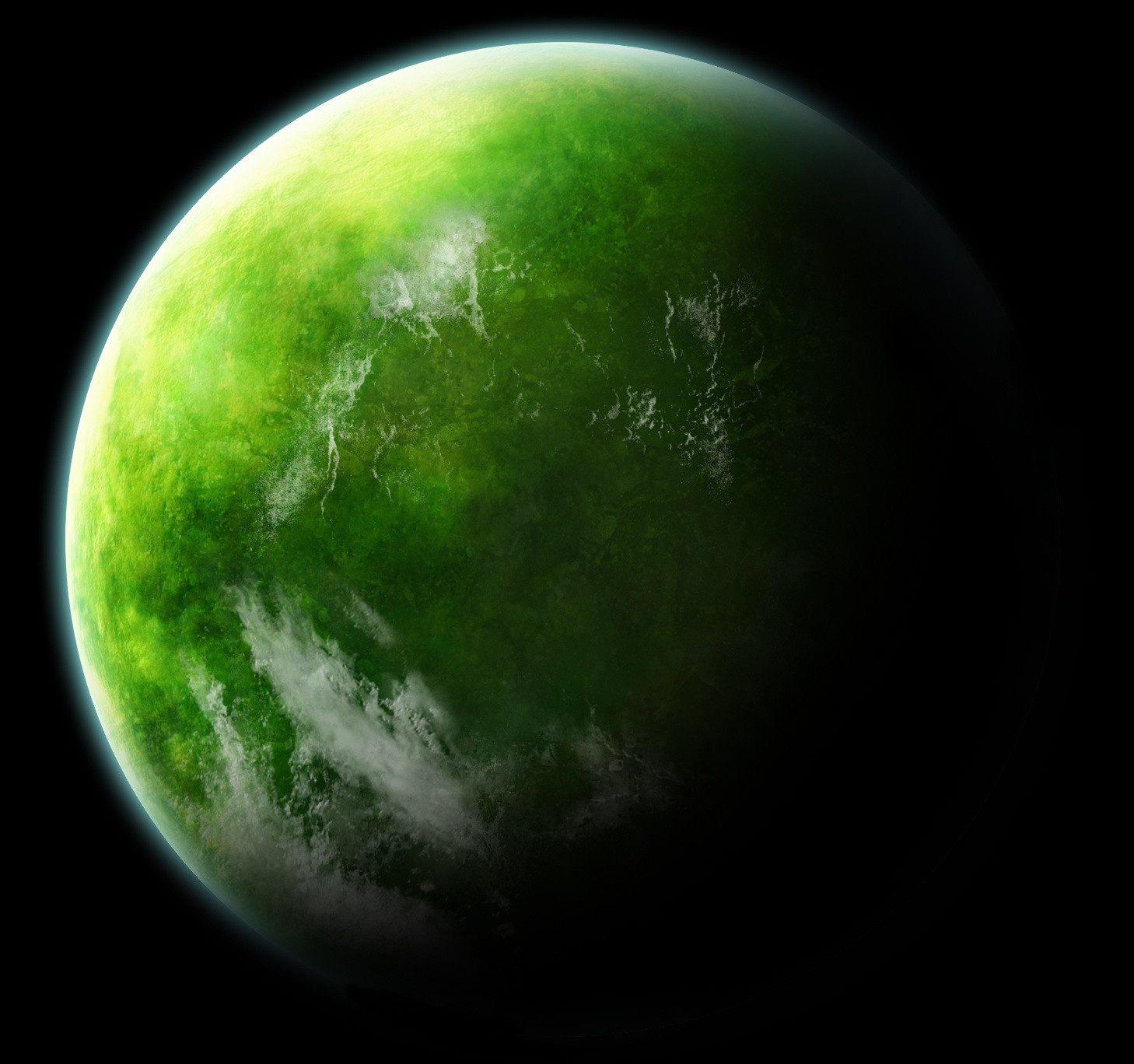 Земля картинка зеленого цвета